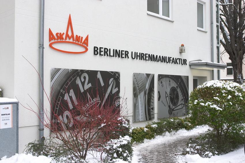 Einzug Berlin-Friedenau
