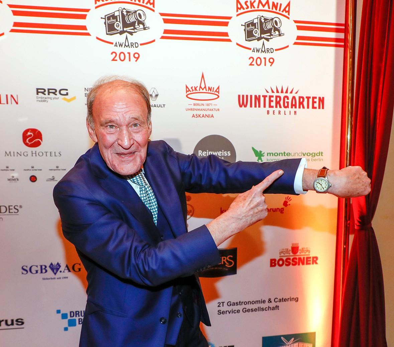 Michael Mendl    bei Verleihung ASKANIA Award im Wintergarten Varieté  Berlin.    © Agentur Baganz