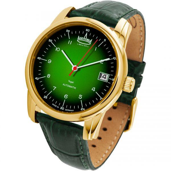 TEGEL - ASKANIA Berlin Armbanduhr schräg von vorne